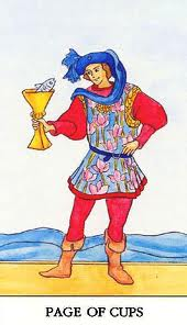 Page of cups tarot love – Counselling Tarot and Mindfulness