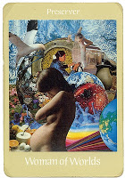 woman of worlds tarot