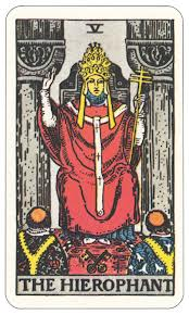 The Hierophant tarot card meaning love | Counselling Tarot ...  The Hierophant ...
