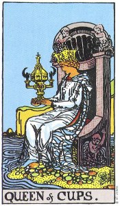 Queen of cups tarot meaning