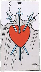 three of swords tarot card love