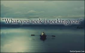 rumi seeking quote mindfulness
